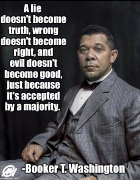 Booker Washington quote