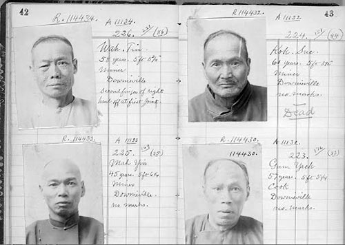 Chinese immigrants, California