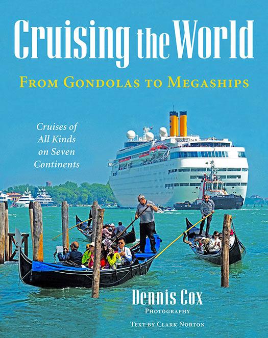 'Cruising the World – From Gondolas to Megaships' cover