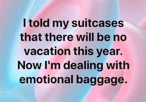 Don's Puns: Emotional Baggage