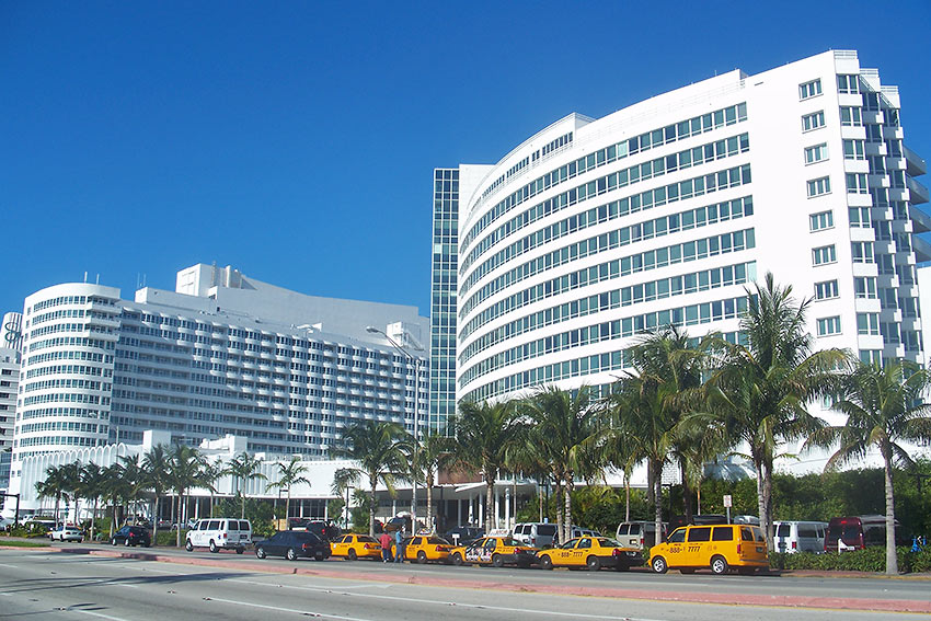 Fontainebleau Hotel, Miami Beach, Florida