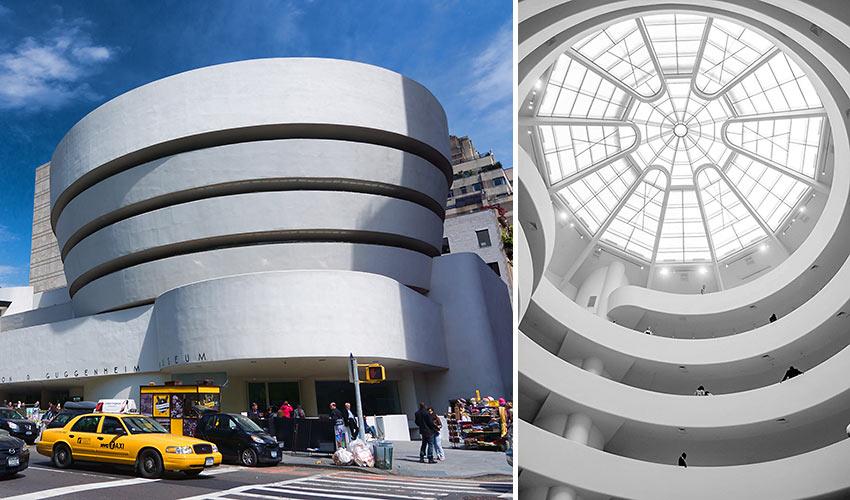 Guggenheim Museum in NYC
