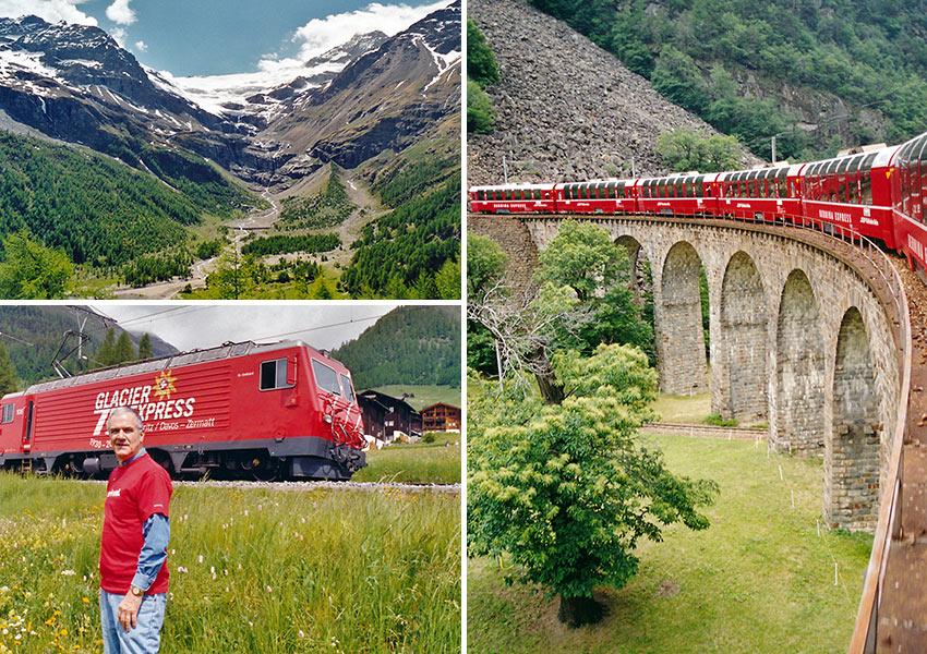 John Clayton in Switzerland
