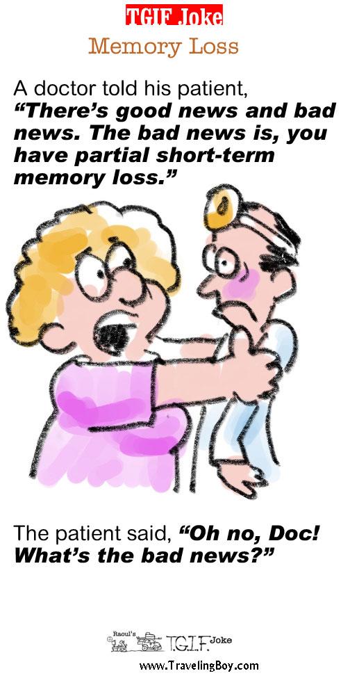 TGIF Joke of the Week: Memory Loss