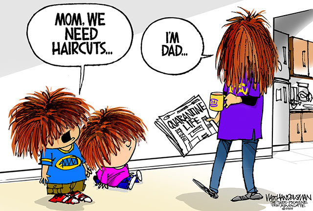 Parting Shots: Need Haircuts