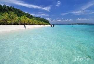 white sand beach at Porta Vega Beach Resort, Dimasalang, Masbate