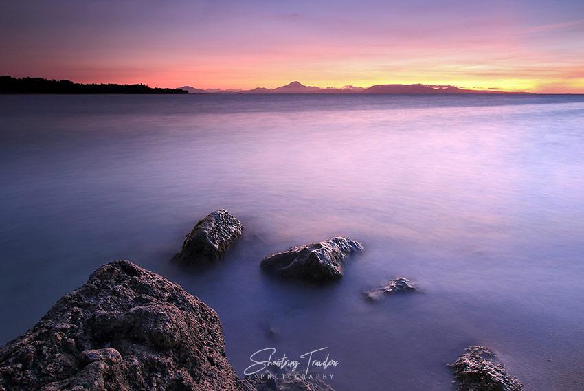 sunrise at a beach in San Fernando, Ticao Island, Masbate