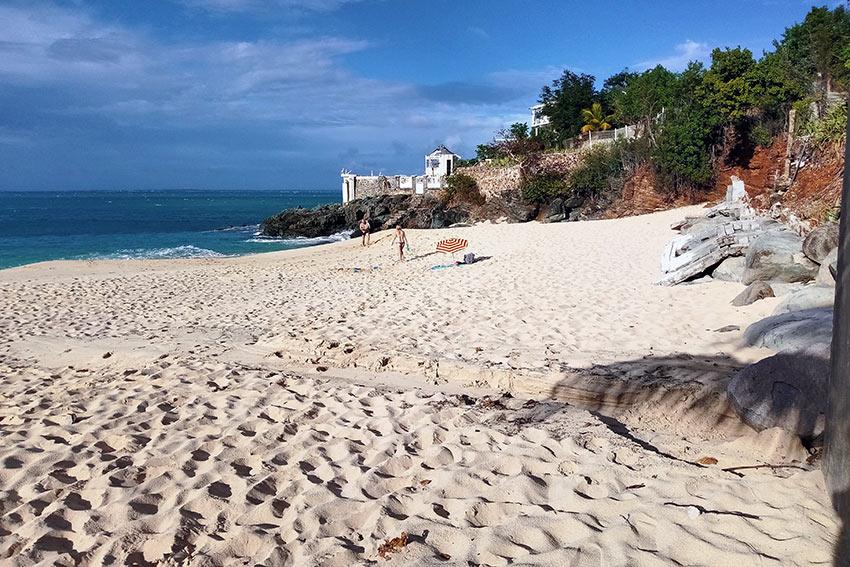 beach at St. Martin