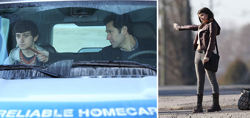 Craig Roberts, Paul Rudd and Selena Gomez in 'The Fundamentals of Caring'