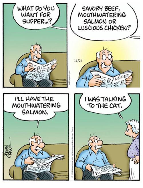 Parting Shots: Cat Supper