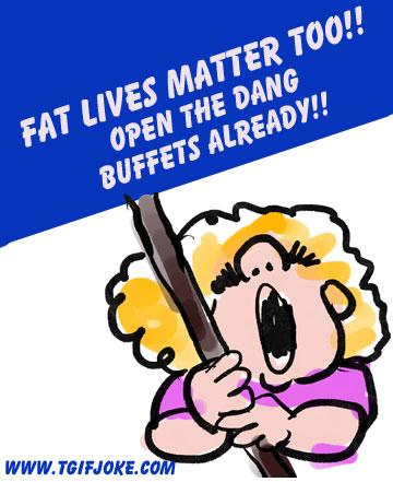 Parting Shots: Fat Lives Matter