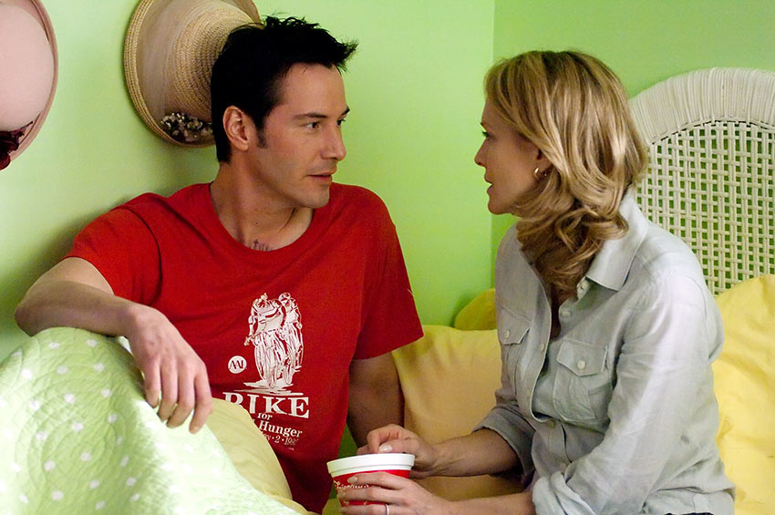 Keanu Reeves and Robin Wright in 'The Private Lives of Pippa Lee'