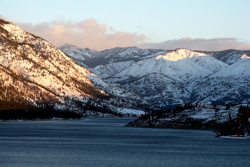 Lake Chelan, north-central Washington