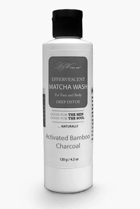Matcha Activated Charcoal Wash