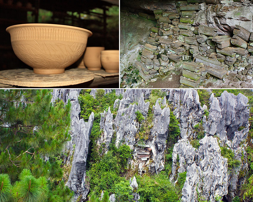 pottery, Sumaguing Burial Cave and the Sugong Hanging Coffins, Sagada