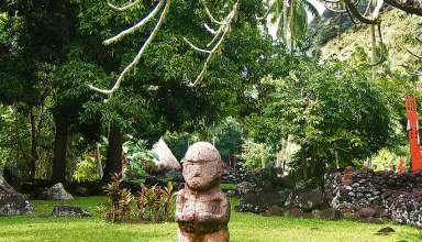 Tahiti marae