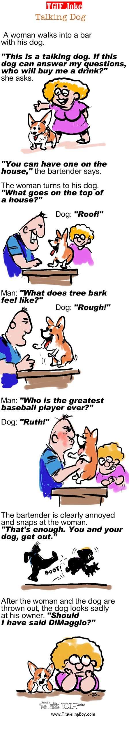 TGIF Joke of the Week: Talking Dog