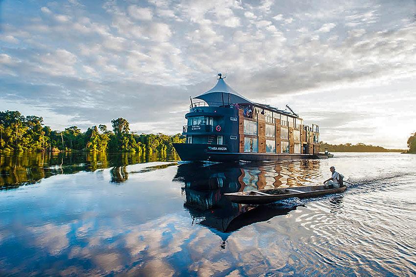 cruising the Peruvian Amazon Rainforest