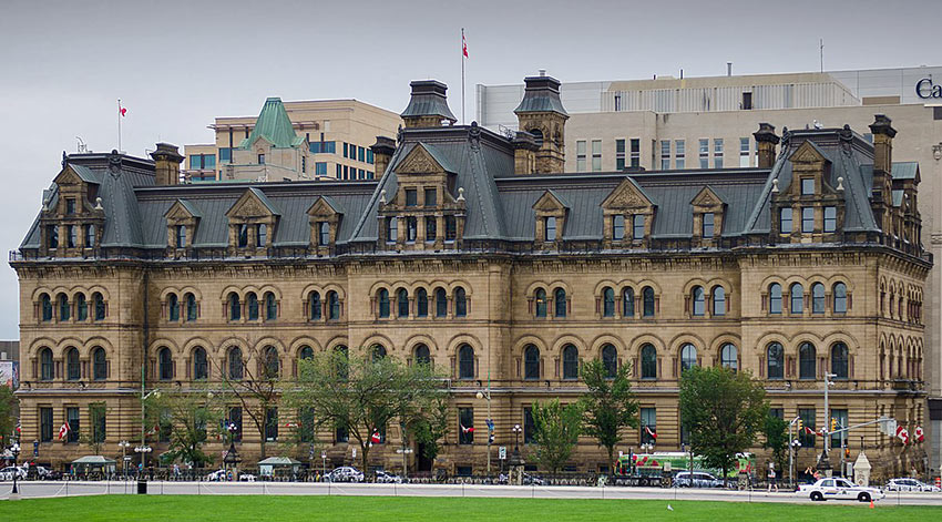 Office of the Prime Minister and Privy Council in Ottawa