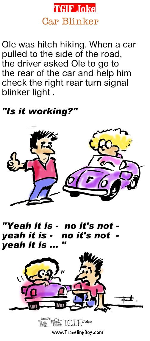 TGIF Joke of the Week: Car Blinker
