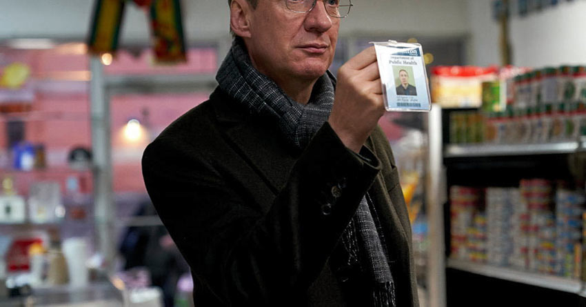 Department of Health Inspector Jim, wonderfully played by David Thewlis