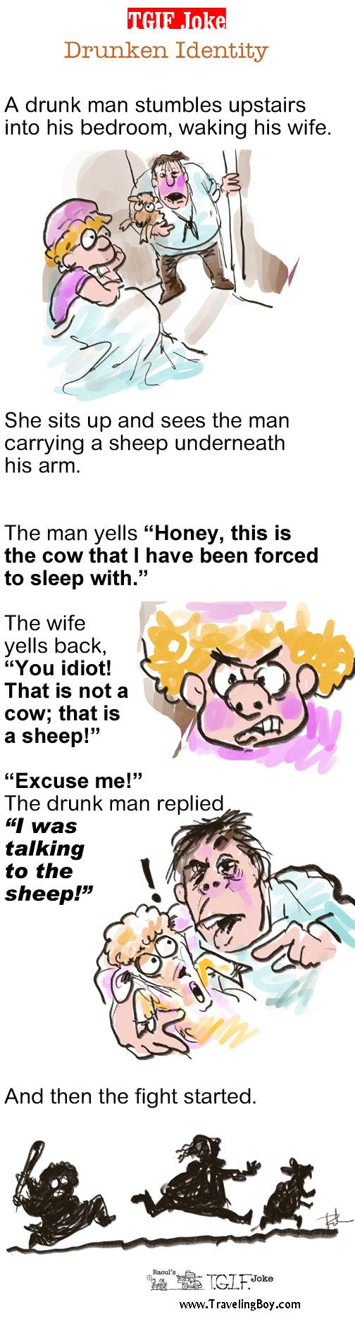 TGIF Joke of the Week: Drunken Identity