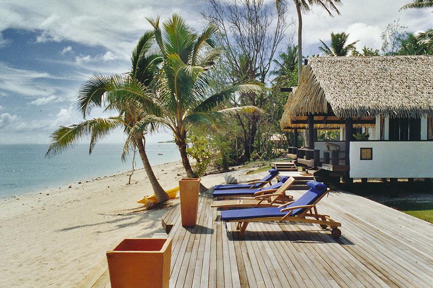 lodging at Aitutaki