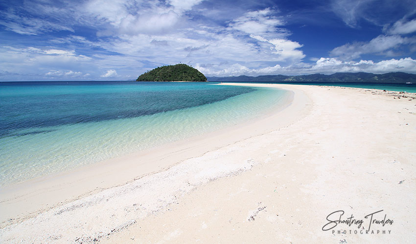 Bonbon Beach and Sandbar