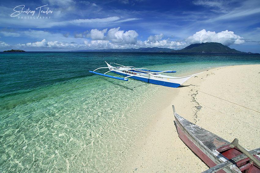 fishing boats at Cobrador Island
