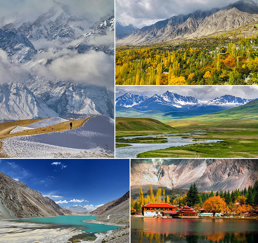 scenes from Gilgit Baltistan, Pakistan