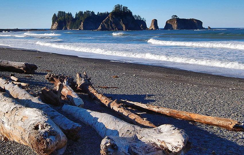 La Push. Olympic Coast, Washington