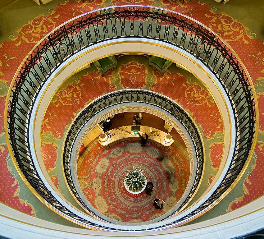 the Ritz Lobby from Rotunda