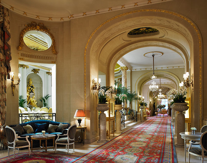 the Ritz's long gallery