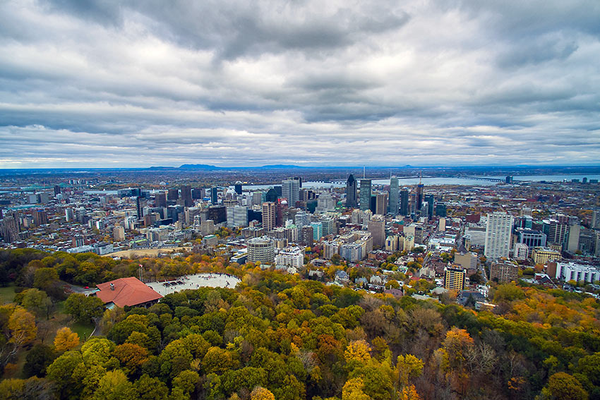 Montreal viewed from Mount Royal