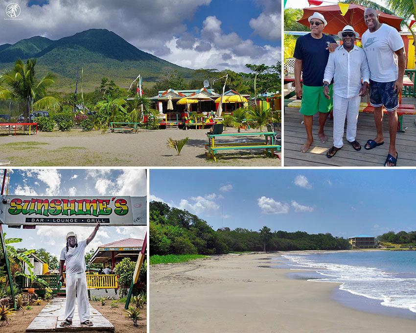 Sunshine's Beach Bar on Nevis