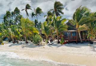 One Foot Island Post Office, Aitutaki, Cook Islands