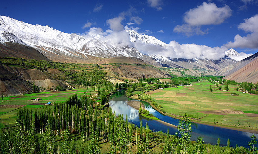 Phandar Valley in Gilgit-Baltistan