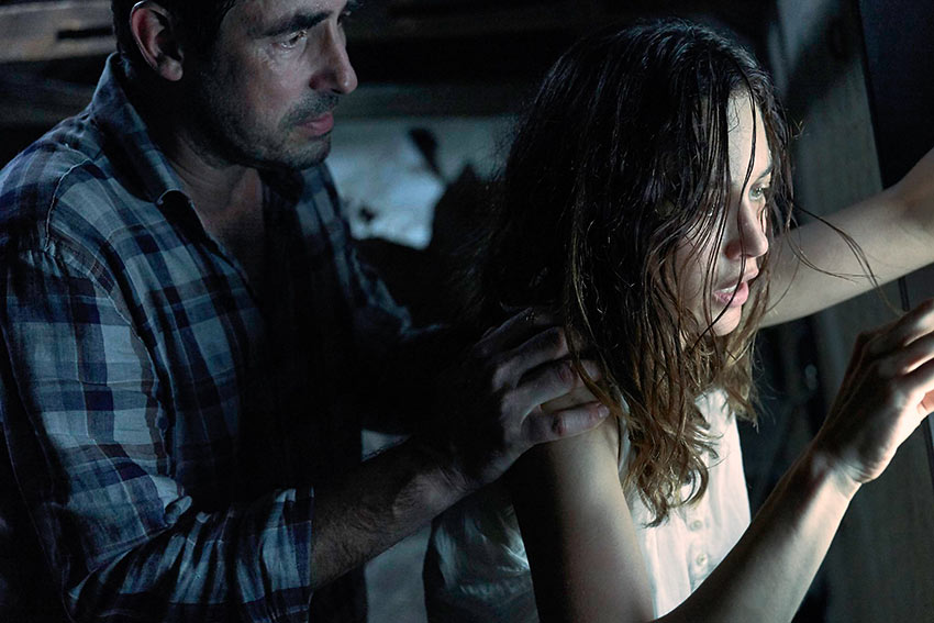 Will (Claes Bang) is trying to cope with his wife's (Olga Kurylenko) deteriorating mental state