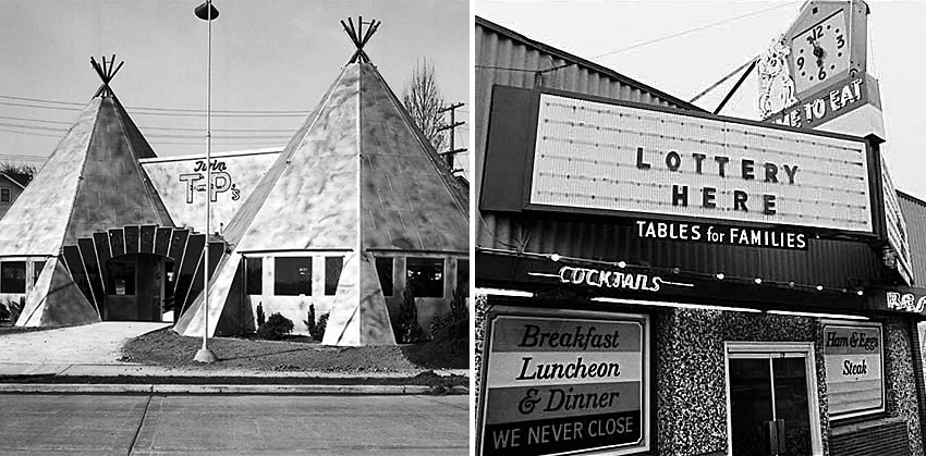 Twin Teepees and the Dog House, Seattle