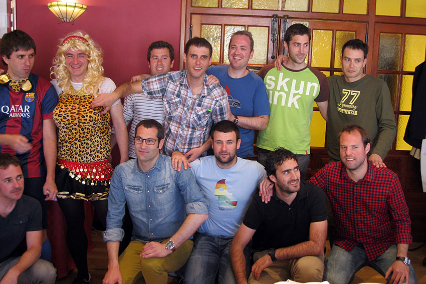bar in Spain's Castilla y Leon city of Villadolid