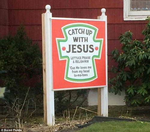 Parting Shots: Catch Up with Jesus