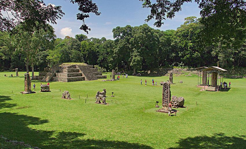 Copán's Maya ruins, western Honduras