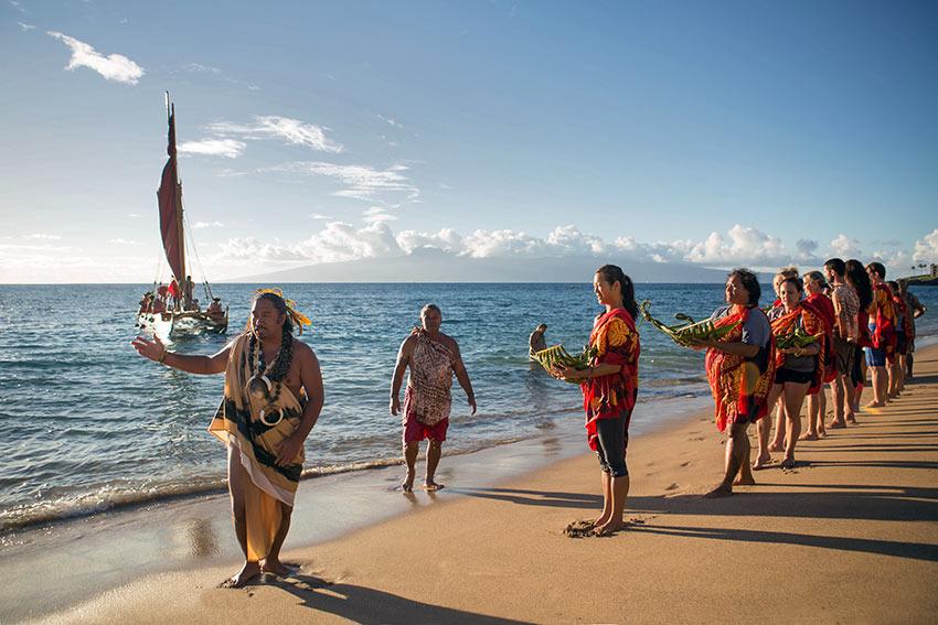 cultural class at Ka'anapali Beach Resort