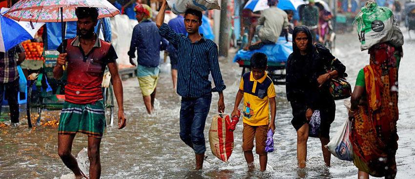 Dhaka Floods, 2017