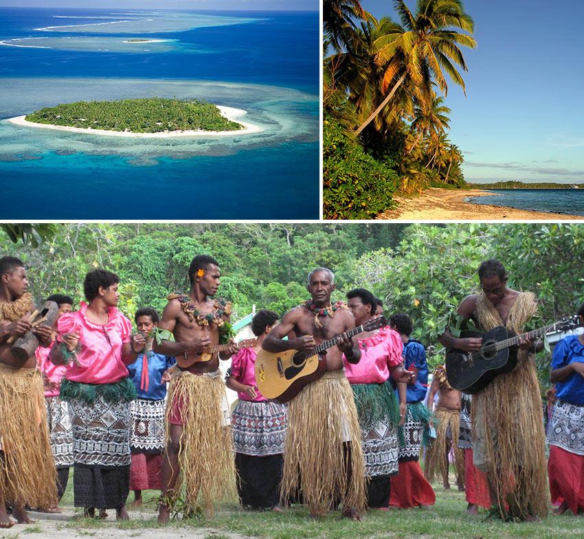 Fiji scenes