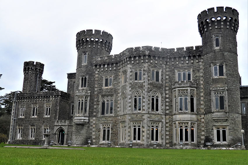 Johnstown Castle in County Wexford, Ireland
