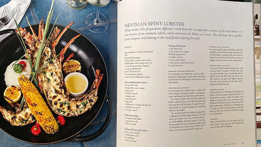 Nevisian Spiny Lobster recipe
