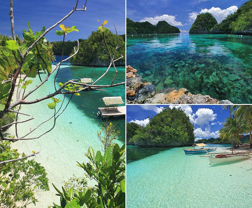 scenes from Punta Villa Resort, Libjo, Dinagat
