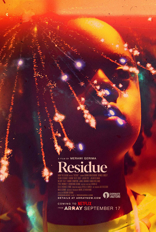 Residue movie poster