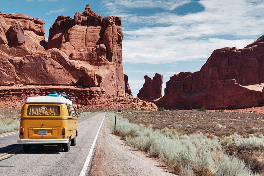 summer travel, America